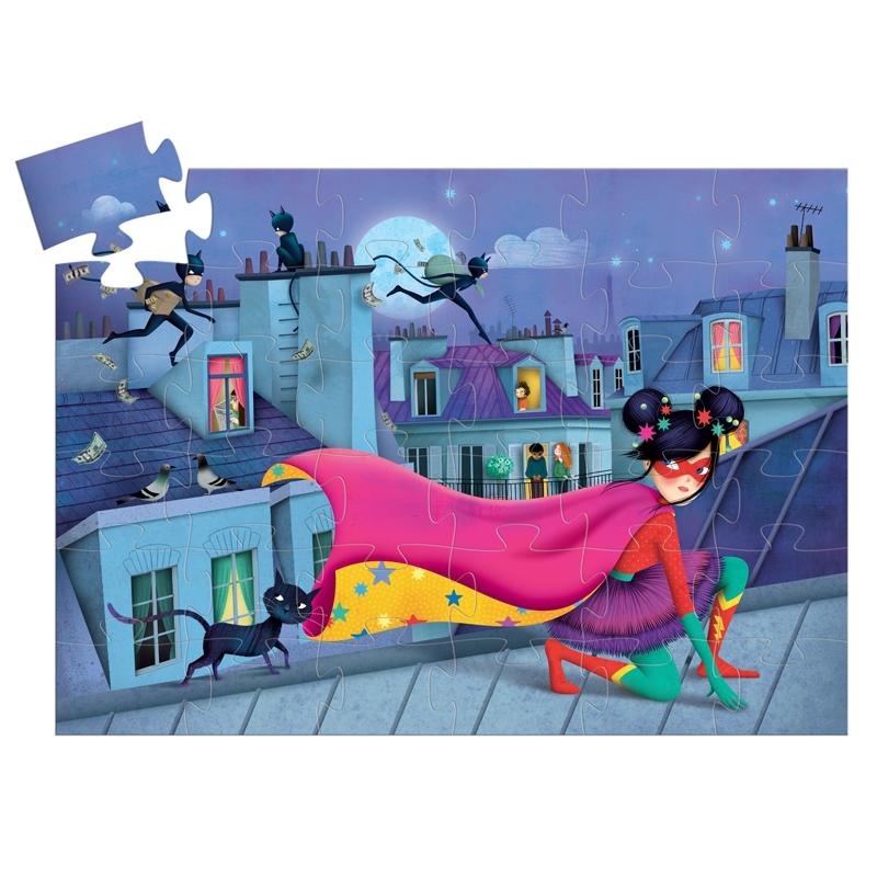 Formadobozos puzzle - Szuper sztár - Super star - 1