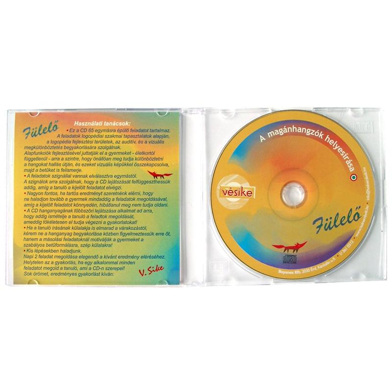 Vésike - Fülelő - Magánhangzók helyesírása audio CD - 0