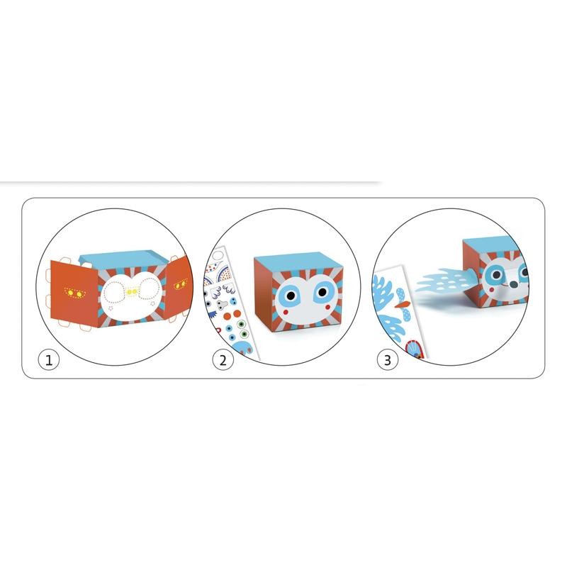Papírszobor műhely - Vidám állatok - Funny animals - 3