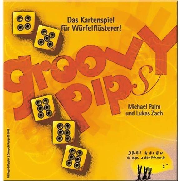 Kártyajáték - Groovy Pips - 0