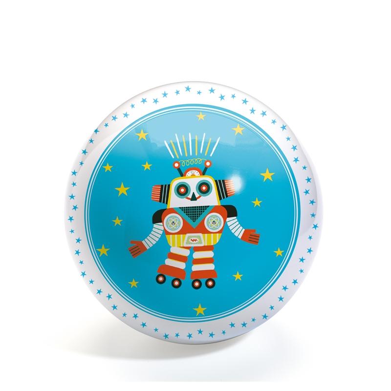 Gumilabda - Vidám robot - Funky Robots ball - 0