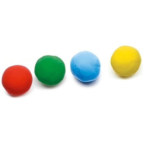 Gyurma - 4 szín pillegyurma - 4 tubs of play dough - 1