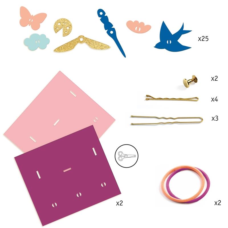 Magic plastic ékszer készítés - Hajba valók - Hairstyling accessories - 1