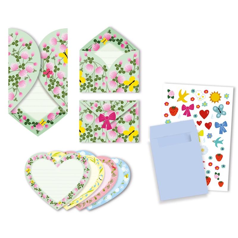 Parti játék - Meghívókártyák - Hearts invitation cards - 0