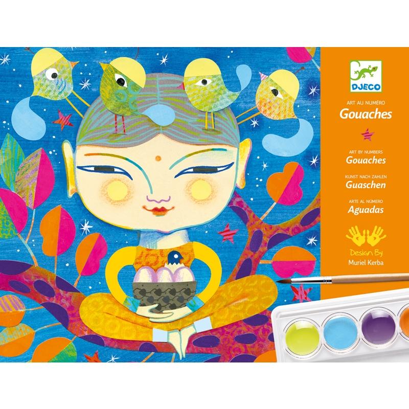 Művészeti műhely, festés - Indiai hangulat - India - 0