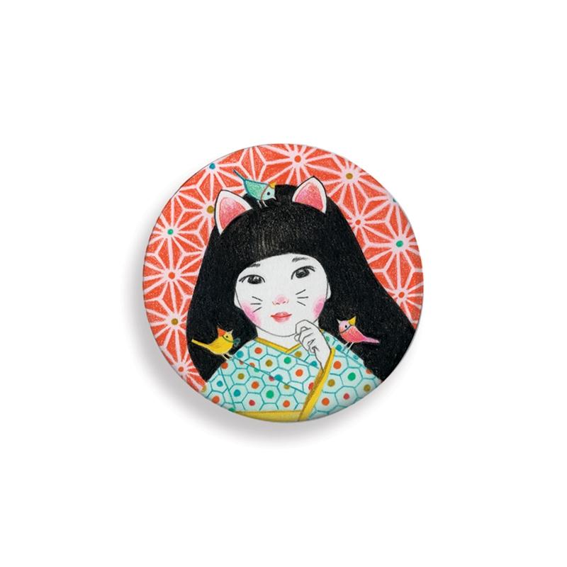 Kitűzők - Japán - lovely badges - 1