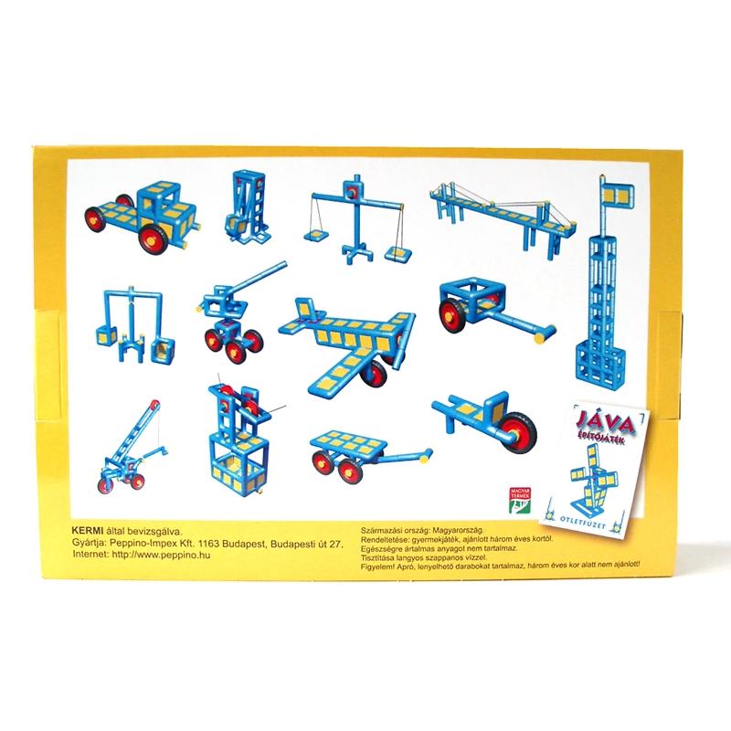 Építőjáték  - Jáva 3. építő (651 elem) klasszikus - 1
