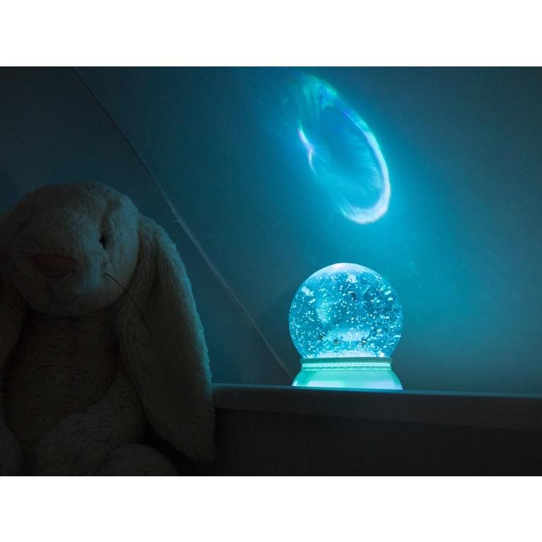 Jelzőfény - Őzikés csillámgömb - Fawn - 1