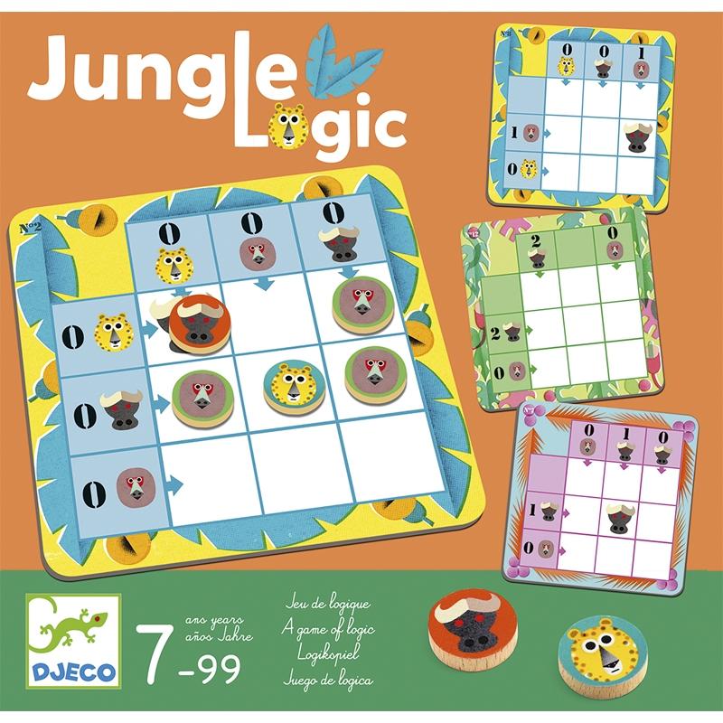 Logikai játék - Jaguár logika - Jungle Logic - 0