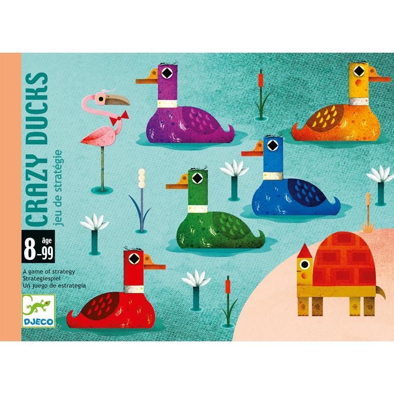 Kártyajáték - Logi-kacsa-láb - Crazy Ducks - 0