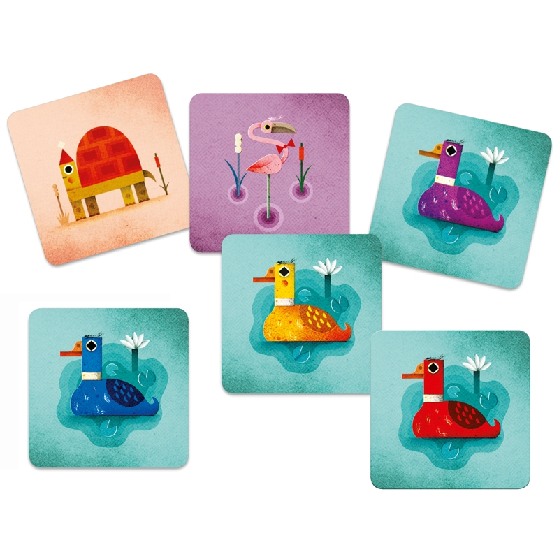 Kártyajáték - Logi-kacsa-láb - Crazy Ducks - 1