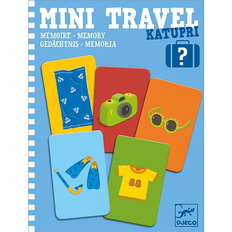 Mini utazó játék -  Memória - Katupri - 0