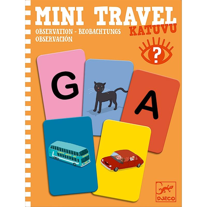 Mini utazó játékok - Betű-kép - Katuvu - 0