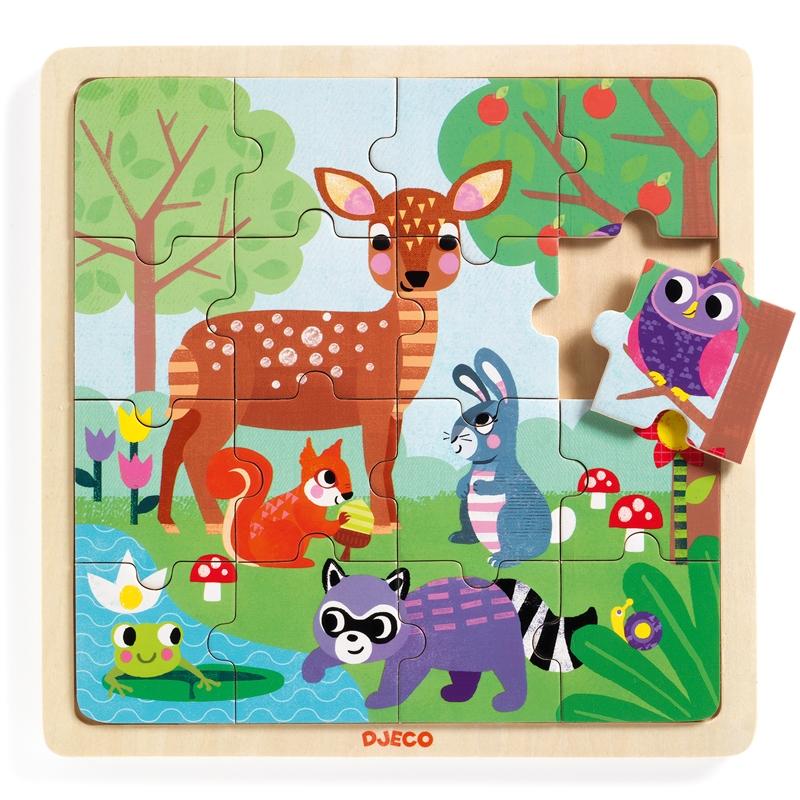 Képkirakó, puzzle - Erdő puzzle - Puzzlo Forest - 0