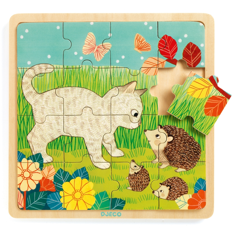 Képkirakó, puzzle - Kert puzzle - Puzzlo Garden - 0