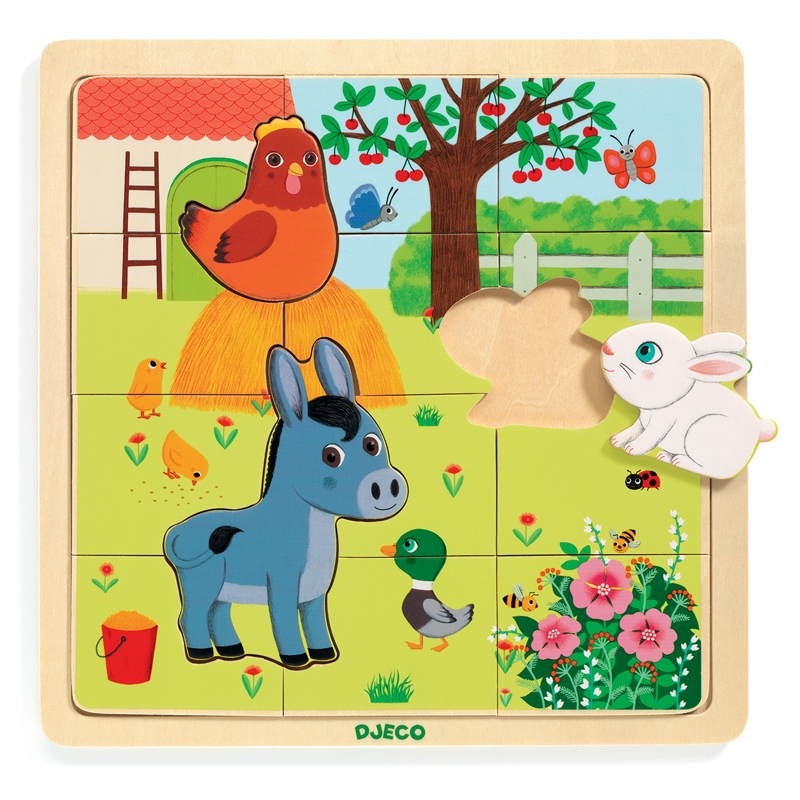 Képkirakó, puzzle - Tanya puzzle - Puzzlo Farm - 0