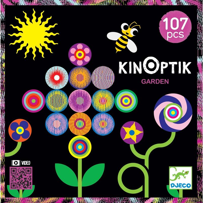 Optikai puzzle - Kert - Kinoptik Garden - 107 db-os - 0