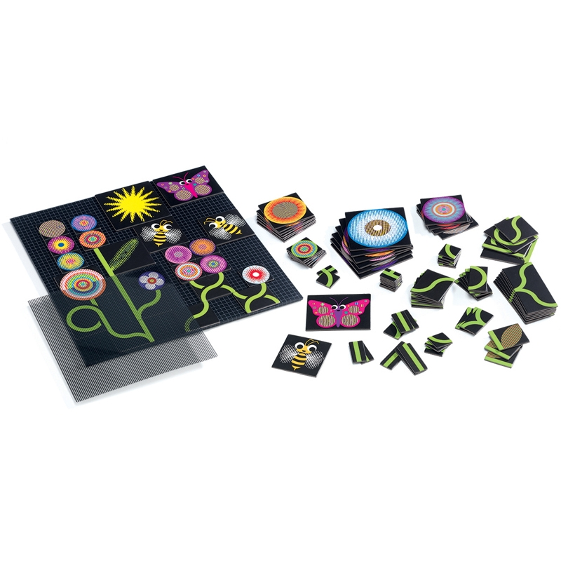 Optikai puzzle - Kert - Kinoptik Garden - 107 db-os - 1