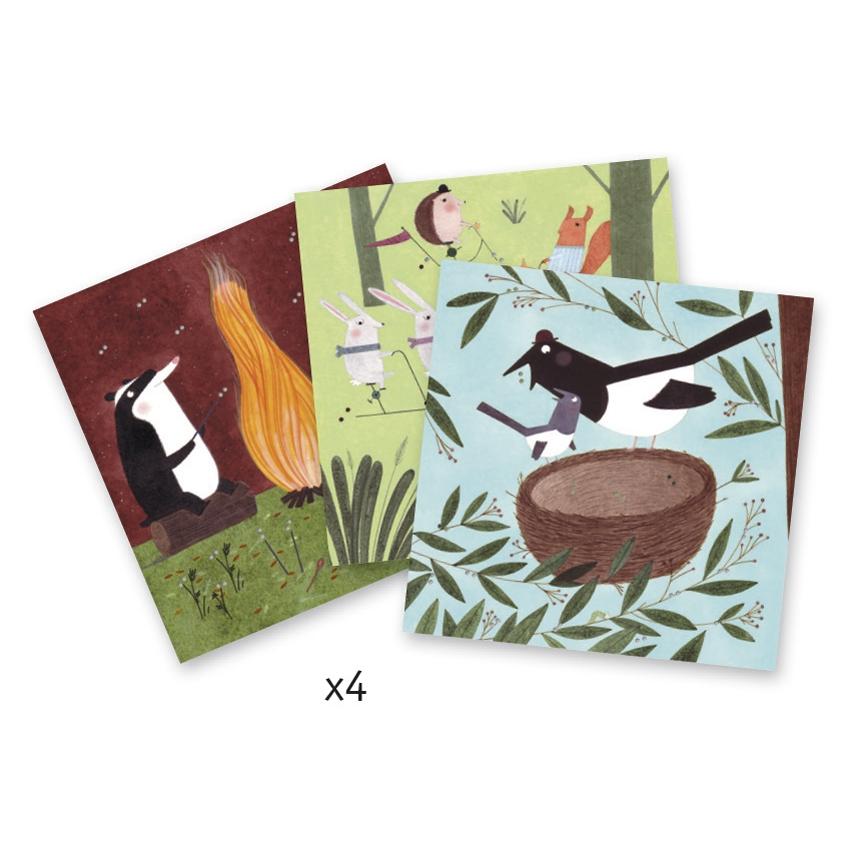 Varrás és hímzés - Kis kaland az erdőben - A little adventure in the woods - 2