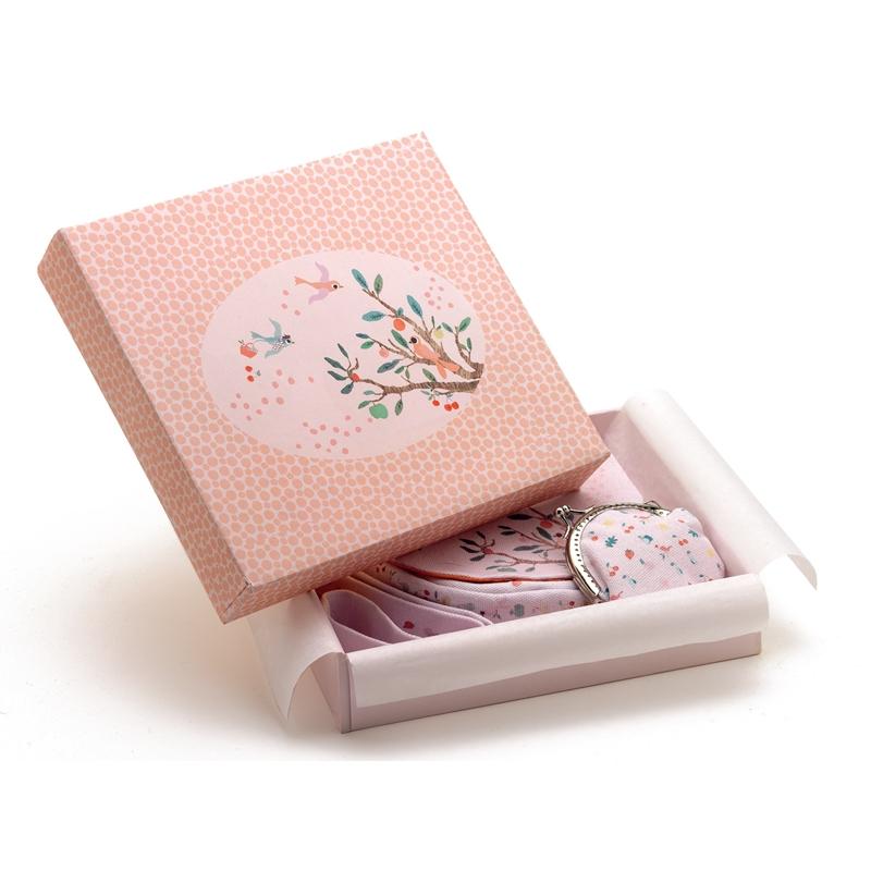 Kistáska pénztárcával - Nyári kert - Summer garden bag and purse - 1
