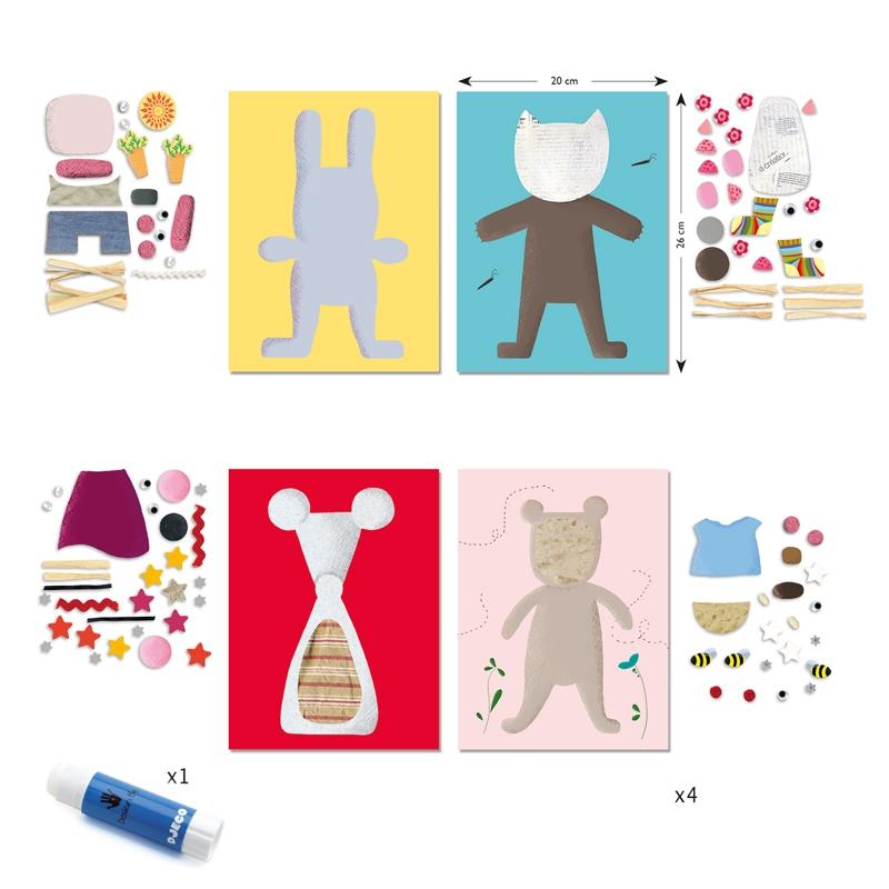 Kollázs műhely - Kicsiknek - Collages for little ones - 1