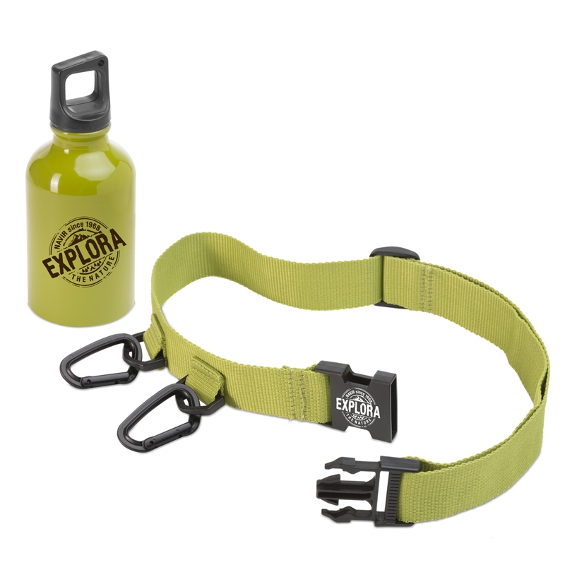 Kulacs ővvel - EXPLORA BOTTLE & BELT - 0