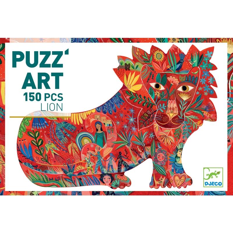 Művész puzzle - Oroszlán, 150 db-os - Lion  - 0