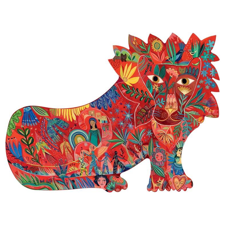 Művész puzzle - Oroszlán, 150 db-os - Lion  - 1