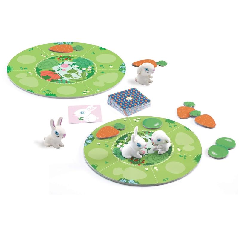 Társasjáték - Nyuszi ül a fűben - Little collect - 1
