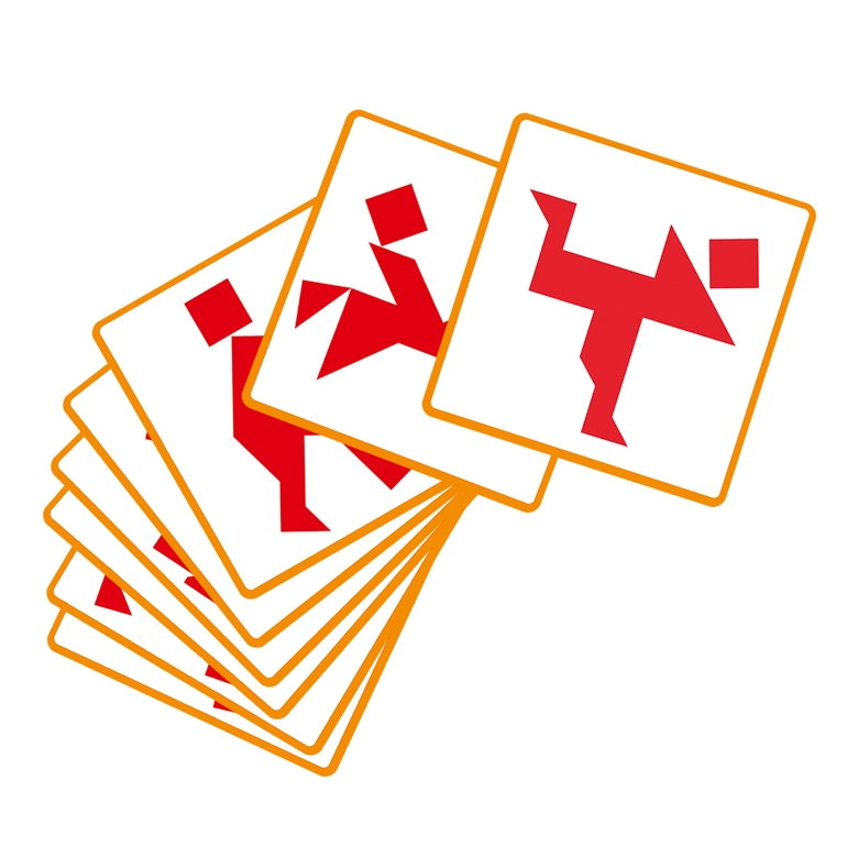 Logikai játék - Tangram - 1