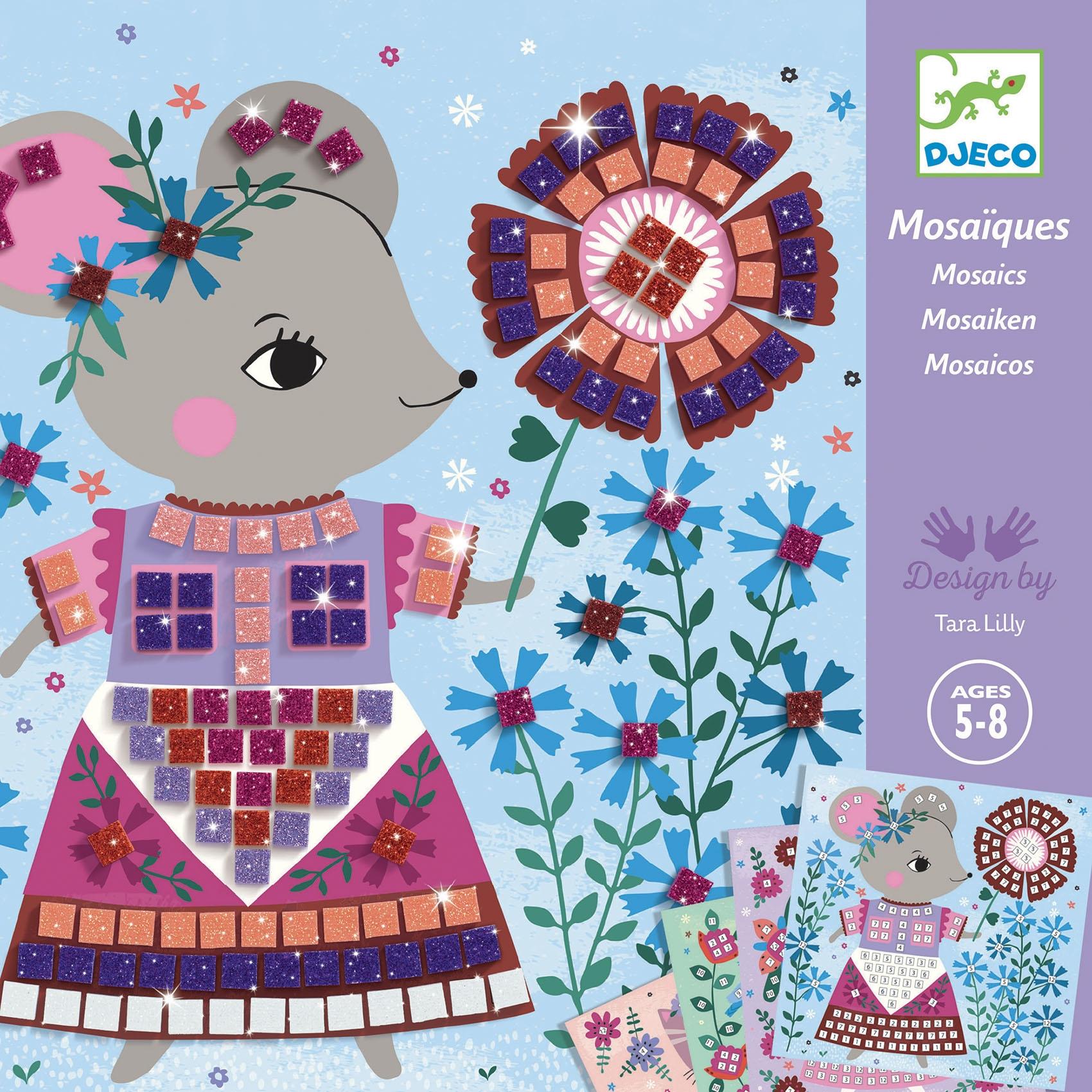 Mozaikkép készítés - Édes háziállatok - Lovely pets - 0