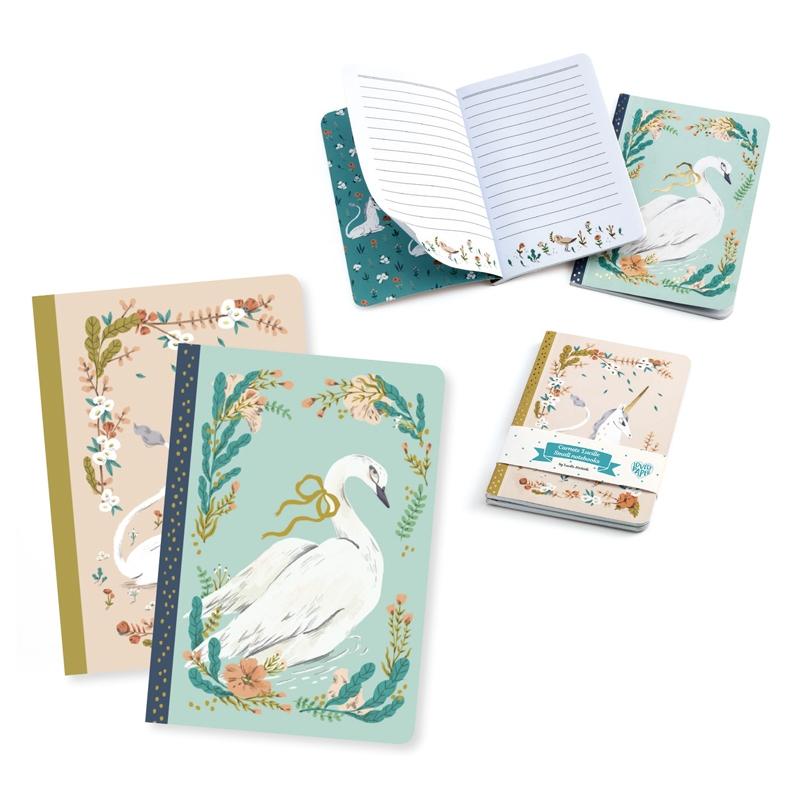 Jegyzetfüzet 2 db A/6 - Lucille little notebooks - 0