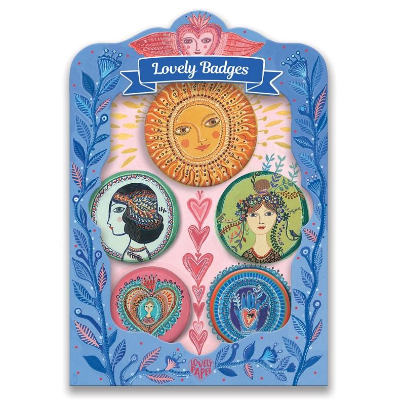 Kitűzők - Virulás - lovely badges - 0