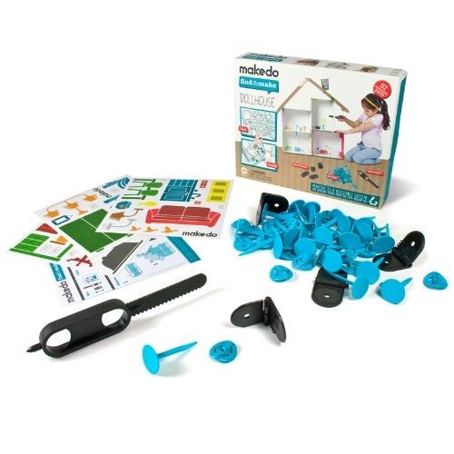Find & Make - Babaház építő -  Dollhouse - 1