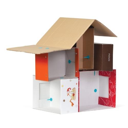 Find & Make - Babaház építő -  Dollhouse - 2