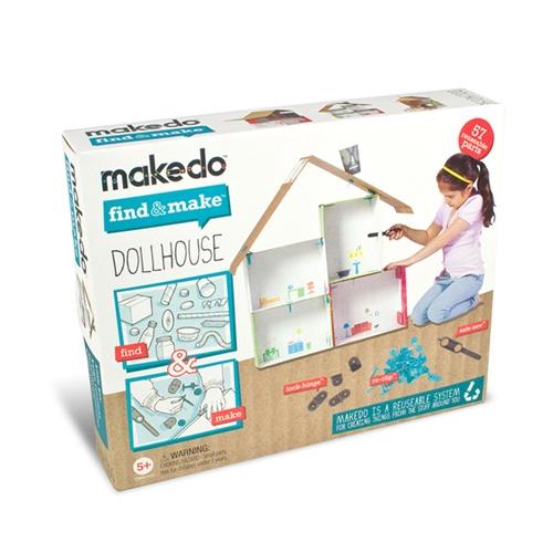 Find & Make - Babaház építő -  Dollhouse - 0