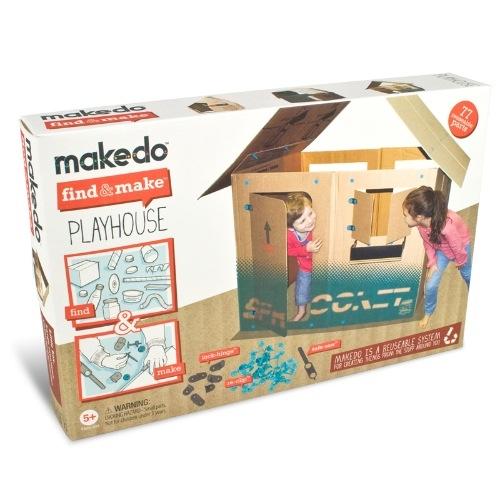 Find & Make - Játszóház építő -  Playhouse - 0