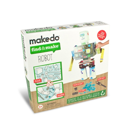 Find & Make - Robotépítő -  Robot - 0