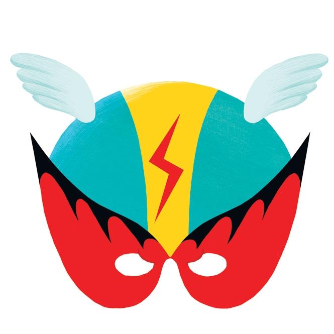 Maszk - Szuperhős - Superhero - 1