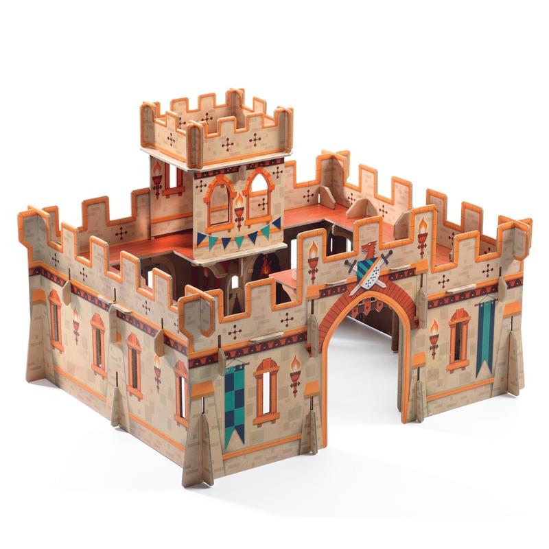 Építőjáték - Középkori vár - Medieval castle - 0