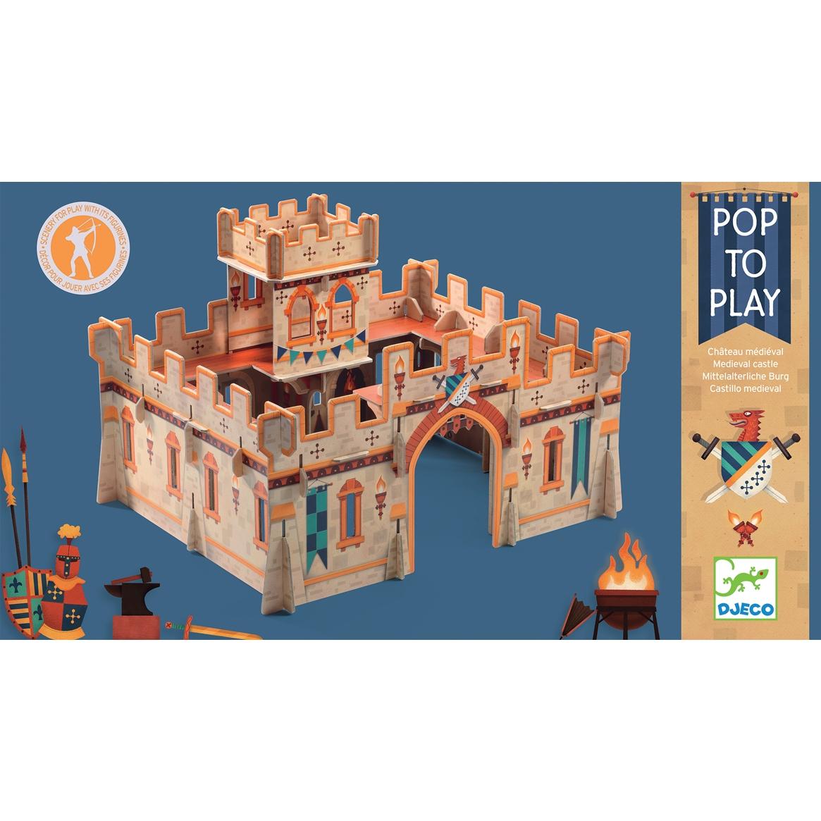 Építőjáték - Középkori vár - Medieval castle - 1