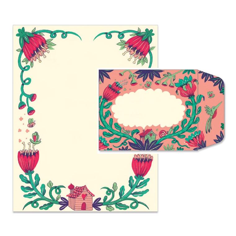 Levélpapír borítékkal - Melissa correspondence set - 3