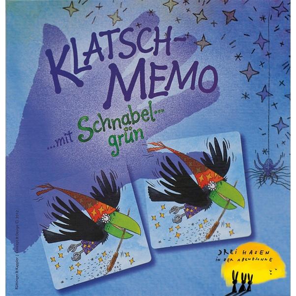 Társasjáték - Memo csatt! - Klatsch-Memo - 0