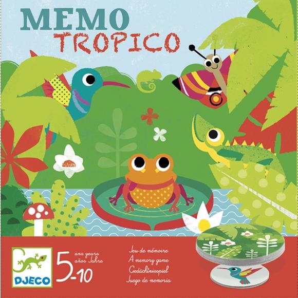 Társasjáték - Esőerdő - Mémo Tropico - 0