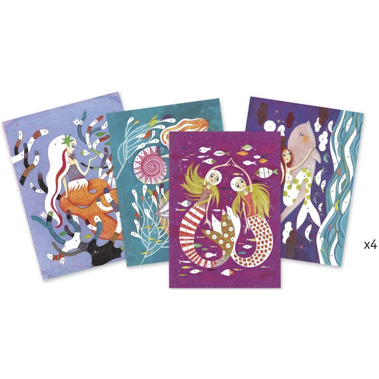 Csillámkép készítő - Sellők - Mermaids - 1