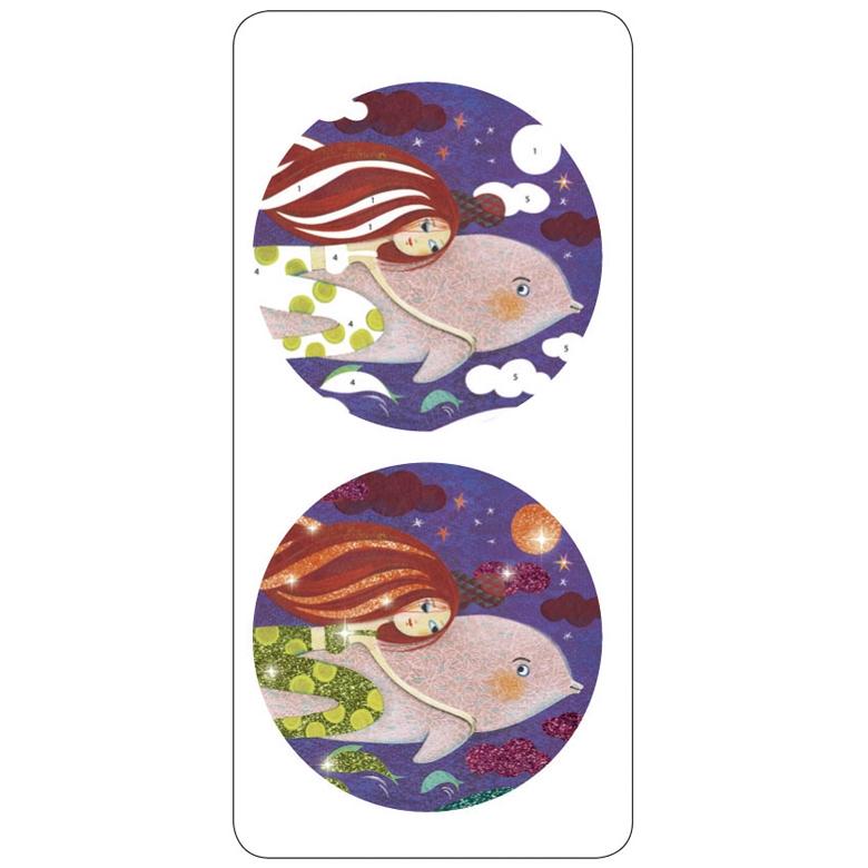 Csillámkép készítő - Sellők - Mermaids - 4