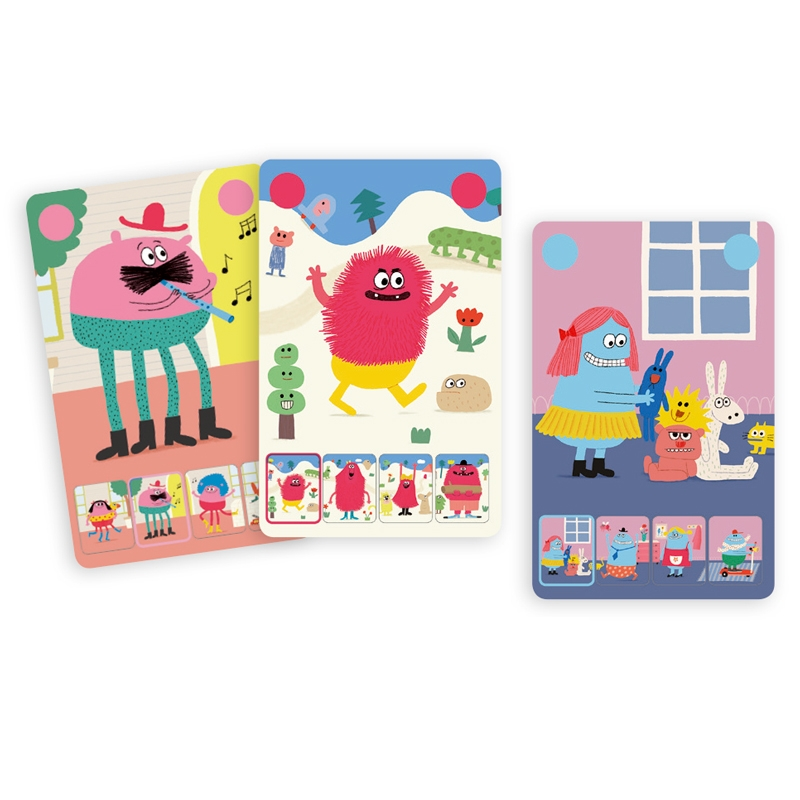 Kártyajáték - Szörnyikék - Mini Monster - 1