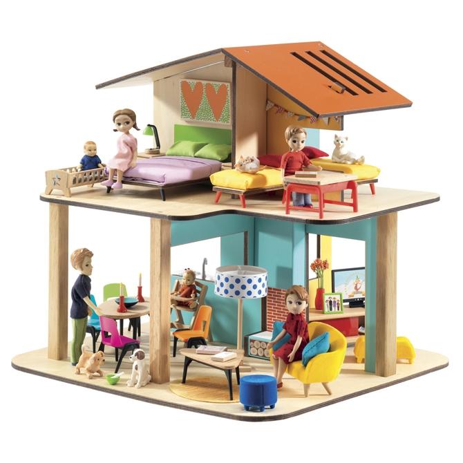 Modern babaház - Modern house - 1