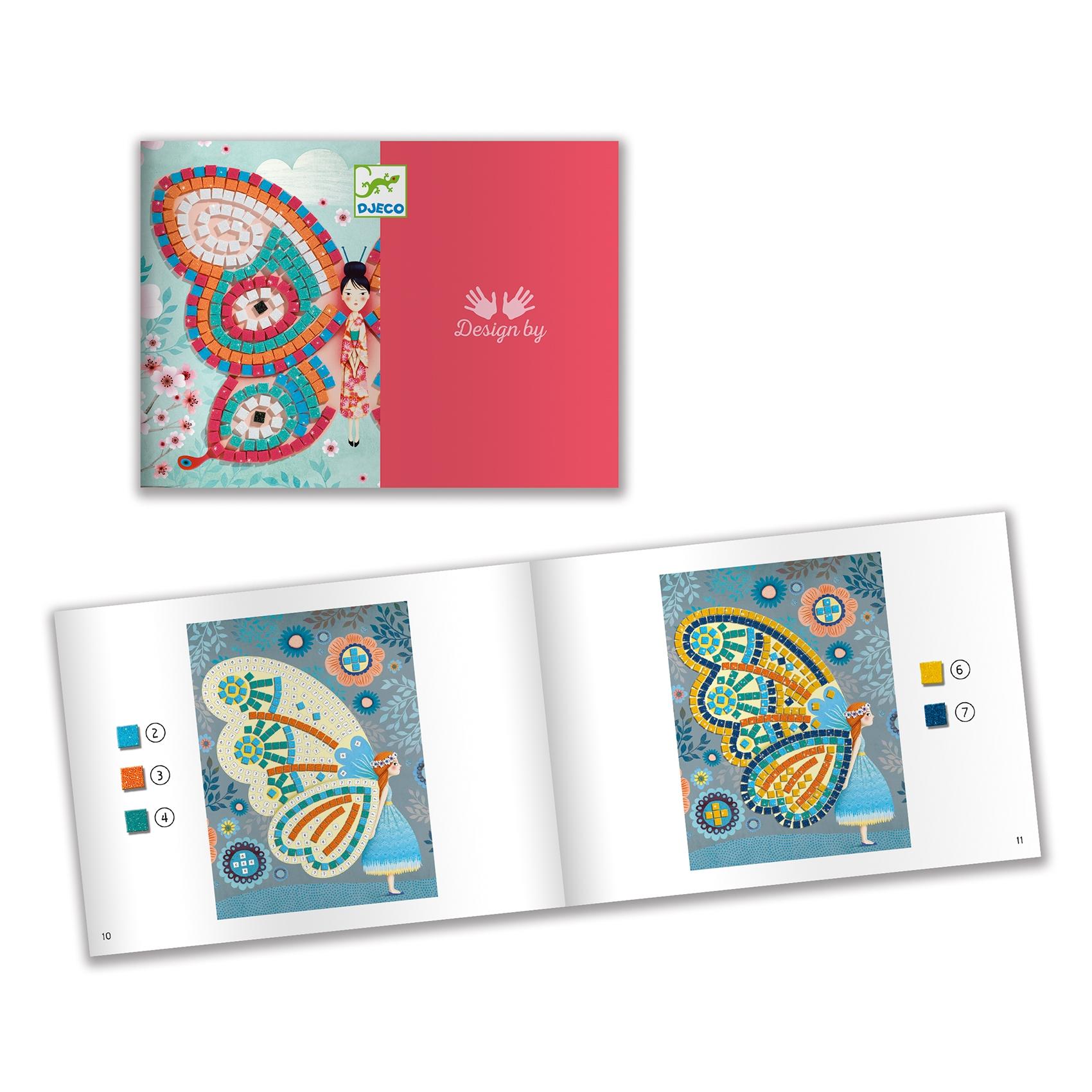 Mozaikkép készítés - Pillangók - Butterflies - 3
