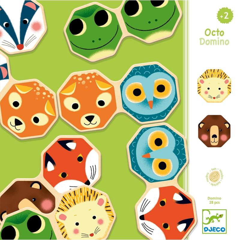 Dominó játék - Okta-dominó - Octo Domino - 0